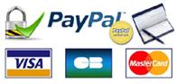 Confort Domo - Paiement sécurisé : Paypal, CB, Chèque