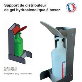 Distributeur de gel hydroalcoolique A POSER n°3