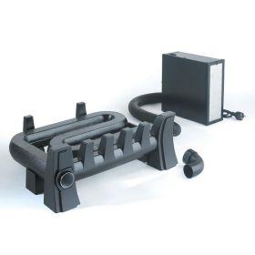 Equatair Récupérateur de chaleur classic avec Support Pare-Bûches